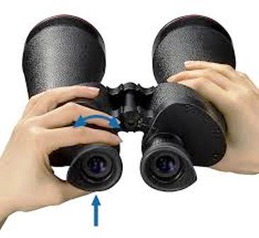 Binoculars Adjust